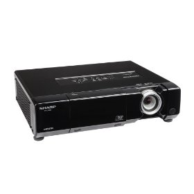 Sharp XVZ15000 High-Definition 1080p Home Theater Projector (Black)