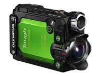 Olympus Stylus Tough TG-Tracker 8.0 MP Ultra HD Action Camera - 4K - Green