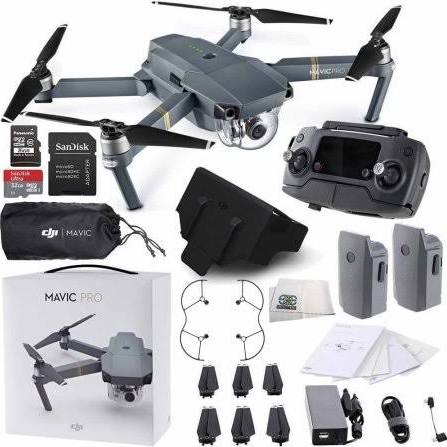DJI Mavic Pro Collapsible Quadcopter Essential ALL DJI ACCESSORY Bundle