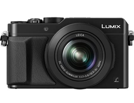 Panasonic Lumix DMC-LX100 12.8 MP Compact Digital Camera - Black