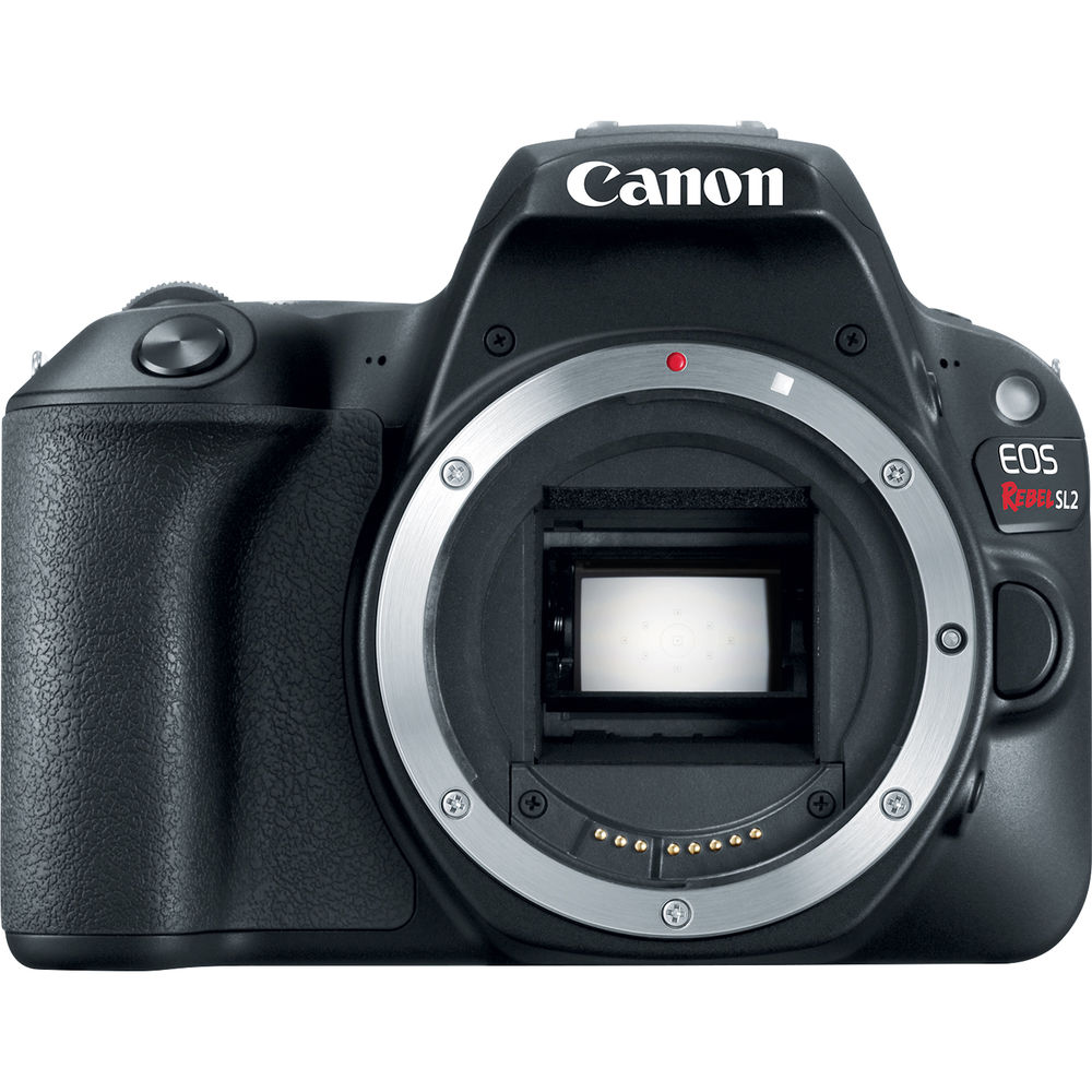 Canon EOS Rebel SL2 DSLR Camera (Black, Body Only)