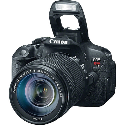 Canon EOS Rebel T5i DSLR Camera with EF-S 18-55mm f/3.5-5.6 IS Lens